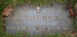 Opal Irene <I>Randall</I> Bethell