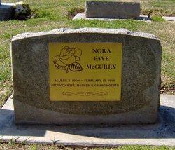 Nora Faye McCurry