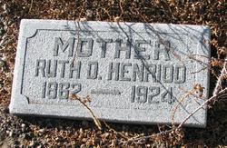 Ruth Donna <I>Hickman</I> Henriod