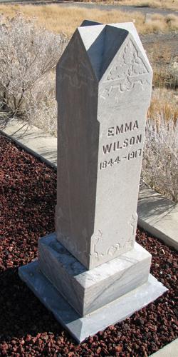 Emma <I>Davis</I> Wilson