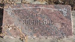 John W Robinson