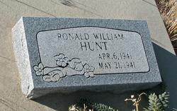 Ronald William Hunt