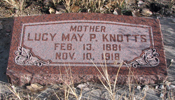 Lucy May <I>Packard</I> Knotts