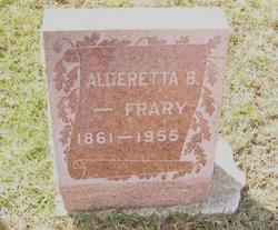 Aldereta <I>Perrin</I> Frary