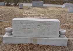 Carrie <I>Conner</I> Benson