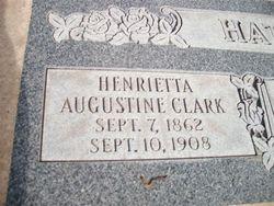 Henrietta Augustino <I>Clark</I> Palmer