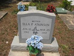 Ella Pearl <I>Stoosick</I> Atkinson