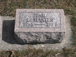 Pearl Lovina <I>Smith</I> LeMasters