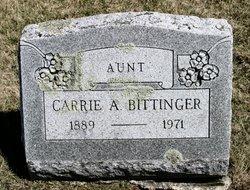 Carrie Alda Bittinger