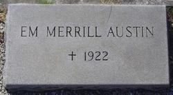Emily <I>Merrill</I> Austin