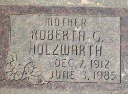 Roberta Gertrude <I>Connell</I> Holzwarth