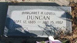 Margaret Alice <I>Lovell</I> Duncan