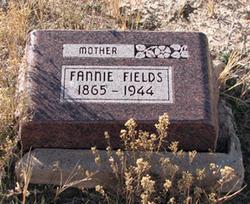 """Francis """"Fannie"""" <I>Haynes</I> Fields"""