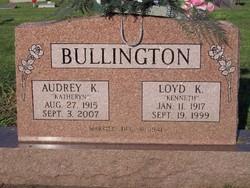 Audrey Katheryn <I>Senter</I> Bullington