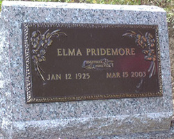 Elma <I>Mullins</I> Pridemore