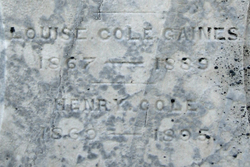 Louise Lytle <I>Cole</I> Gaines