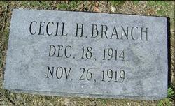 Cecil H. Branch