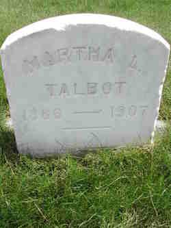 Martha Lucinda <I>Sharp</I> Talbot