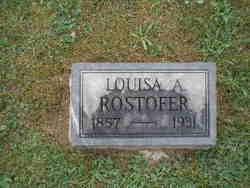 Louisa <I>Reiner</I> Rostofer