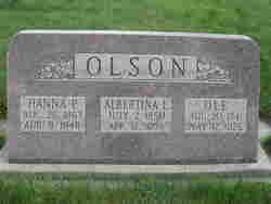 Albertina <I>Larson</I> Olson