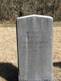 Nancy <I>Churchill</I> Chipman