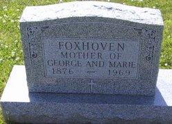 Margaret <I>Jonas</I> Foxhoven