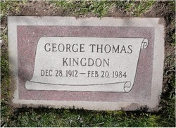 George Thomas Kingdon