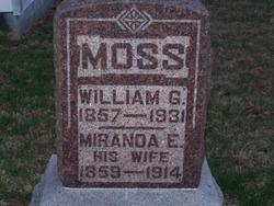 William G Moss