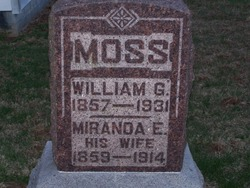 Miranda Elizabeth <I>Parks</I> Moss