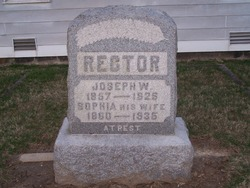 Sophia <I>Stockrahm</I> Rector