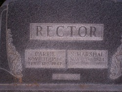 S Marshall Rector