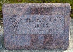 Ethel M. <I>Stegner</I> Green