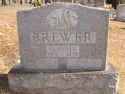 Anna J. <I>Wilson</I> Brewer