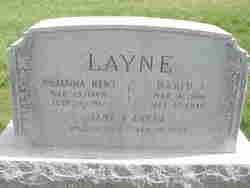 Johanna <I>Kent</I> Layne