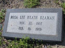 Rosa Lee <I>Heath</I> Beaman