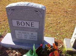 Eunice <I>Moncrief</I> Bone