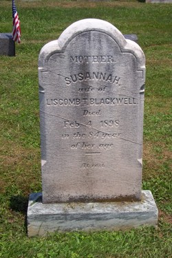 Susannah <I>Drake</I> Blackwell