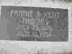 Fannie B. <I>Kent</I> Thomas