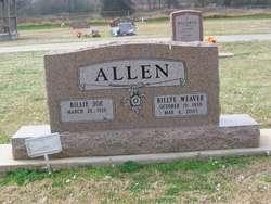 Billye <I>Weaver</I> Allen