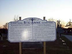 Sainte Anne Cemetery