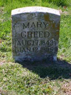 Mary Jemima <I>Calbreath</I> Creed