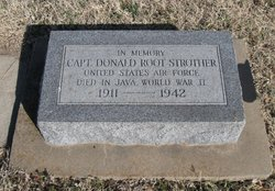 Capt Donald Root Strother