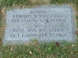 Edward Walter Rauscher