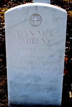 PFC Daniel McKeith Ahrens