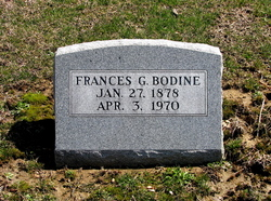 Frances Laura <I>Graves</I> Bodine