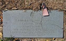 Pvt Samuel Peter Cox