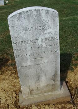 Margaret Rebecca <I>Diller</I> Darr