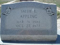 Sallie Emma <I>Giffen</I> Appling