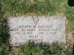 Joseph M Cooney