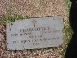 Charlotte E Cunningham